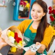Selling flowers — Stock Photo #59280189