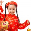 Little Vietnamese girl — Stock Photo #59429409