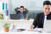 Frustrerad manager — Stockfoto
