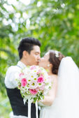 Nuptial bouquet — Stock Photo