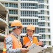 Contractor and investor — Stock Photo #59452553