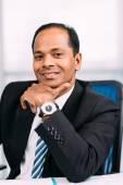 Framgångsrik indisk affärsman — Stockfoto