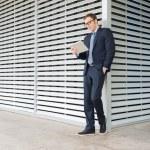 Young stylish businessman — Stock Photo #59543811