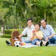 Picnic in park — Stock Photo #61000825