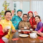 Happy big Vietnamese family — Stock Photo #67315183