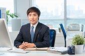 Korean office worker — Fotografia Stock