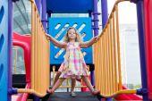 Playful little girls — Stock Photo
