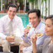 Colleagues having drink after work — Stock Photo #69306557
