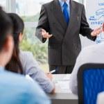 Business people communicating — Stock Photo #69309205