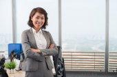 Vietnamese business lady — Stock Photo
