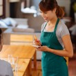 Waitress taking order — Stock Photo #72201897
