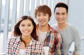 ベトナム人留学生のグループ — ストック写真
