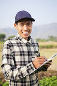 Farmer man — Stock Photo