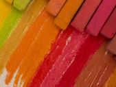 Artistic crayons — Stock Photo