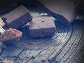 Tasteful chocolate — Stock Photo