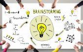 Brainstorm concept — Stock Photo