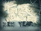 Novoroční předsevzetí — Stock fotografie