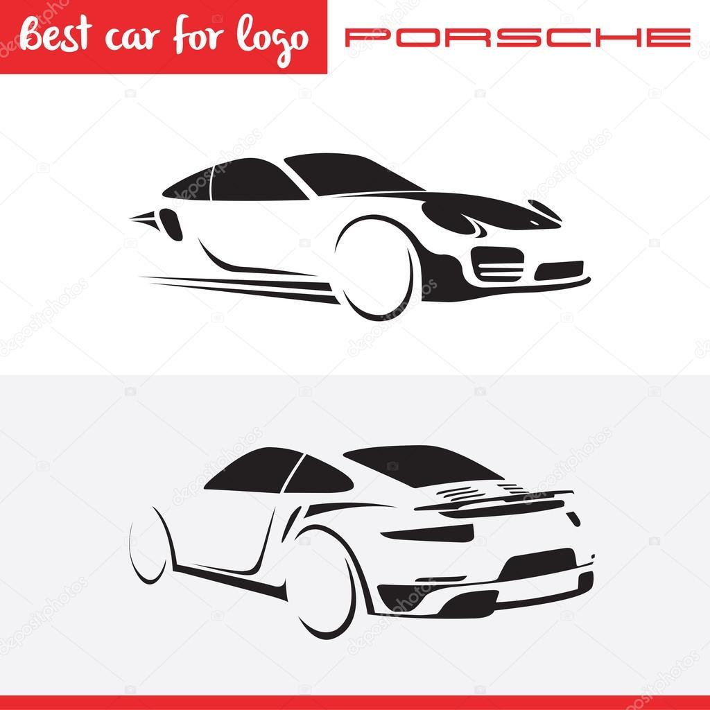 Inverted V Car Logo
