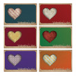 Happy valentine day cards — Stock Photo #59426491