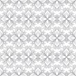 Beautiful print seamless monochrome pattern. — Stock Vector #78077100