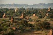 Bagan, MYANMAR - DEC 18: The Temples of Bagan(Pagan), Mandalay, — Stock Photo