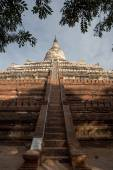 Bagan, MYANMAR - DEC 18: Shwesandaw temple at the archaeological — Stock Photo