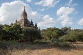 Bagan, Myanmar - 18 de dezembro: Os templos de Bagan(Pagan), Mandalay, — Fotografia Stock