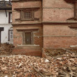 Durbar Square which was severly damaged after the major earthquake on 25 April 2015. — Stock Photo #71913047