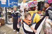 Mu Chang Chai, VIETNAM, JUN 13: daily life of unidentified triba — Stock Photo