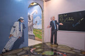PATTAYA, THAILAND - JULY 18: painting 3D art gallery is shown on — Stock Photo