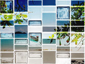 The graphic on tile — Stock Photo