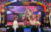 Tanaka Reina and Okada Marina from LoVendor Group in Japan Festa in Bangkok 2014 — Foto Stock