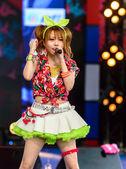 Tanaka Reina (Vocals Leader) from LoVendor Group in Japan Festa in Bangkok 2014 — Foto Stock