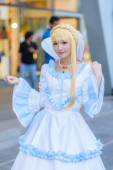 An unidentified Japanese anime cosplay. — Stock Photo