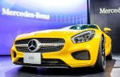 The Mercedes Benz GTS — Stock Photo