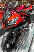 Yamaha YZF R15 Motorcycle. — Stock Photo