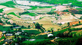 Rice fields on terraced of Mu Cang Chai, YenBai, Vietnam — Stock Photo
