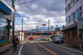 Mostra nei dintorni di stazione di shimoyoshida — Foto Stock