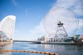 Yokohama Minato Mirai 21 district — Stock Photo