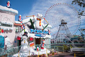 Big wheel at Yokohama's Cosmo — Stock Photo