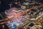 Paisaje urbano de Yokohama en Yokohama — Foto de Stock