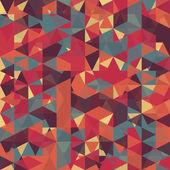 Abstract retro geometric pattern — ストックベクタ
