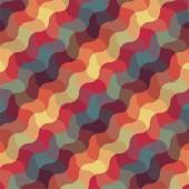 Abstract retro geometric pattern — Stock Vector