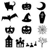 Cartoon halloween doodle element — Stock Vector