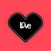 Happy Valentine's Day illustration — Stok Vektör