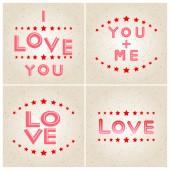 Happy Valentine's Day illustration — 图库矢量图片