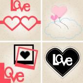 Happy Valentine's Day illustration — Stockvector