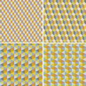 Retro geometric pattern — Stock Vector