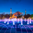 Ayasofya or Hagia Sophia, a former Orthodox patriarchal basilica, later a mosque and now a museum in Istanbul, Turkey — Stock Photo #70559303