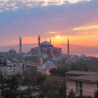 Ayasofya or Hagia Sophia, a mosque and now a museum in Istanbul, Turkey — Stock Photo #78067104